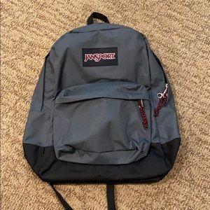 Jansport New Grey/Black Backpack